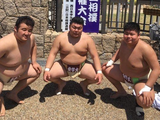 【相撲部】第69回 西日本学生相撲新人選手権大会で団体入賞を逃す
