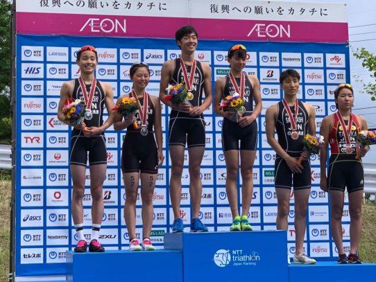 【陸上競技部】第9回日本U23トライアスロン選手権大会で松居智咲さんが準優勝