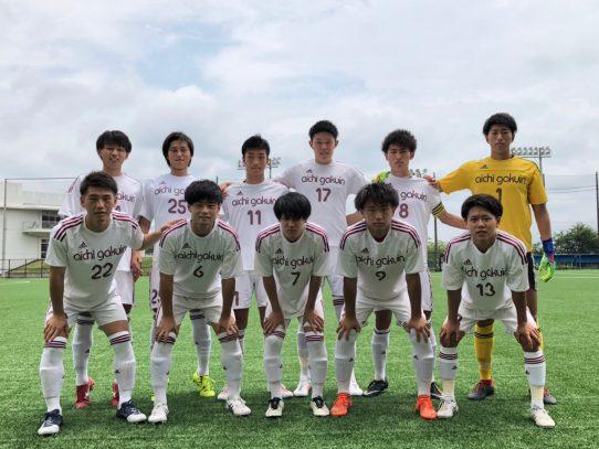 【サッカー部】2019年度 第66回東海学生サッカートーナメント 2回戦 VS静岡産業大学