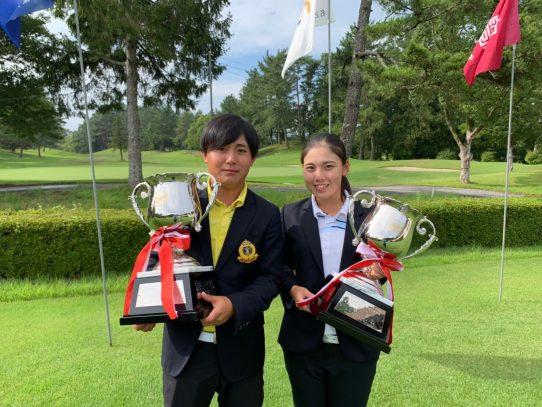【ゴルフ部】愛知県学生ゴルフ選手権において男女共に優勝!