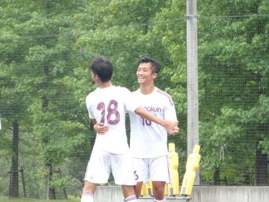【サッカー部】2019年度東海学生サッカーリーグ戦第14節 vs 中京大学