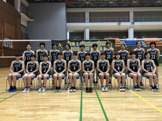 【バレーボール部(女子)】ホームゲームのお知らせ (10/1 AGUスポーツセンター)