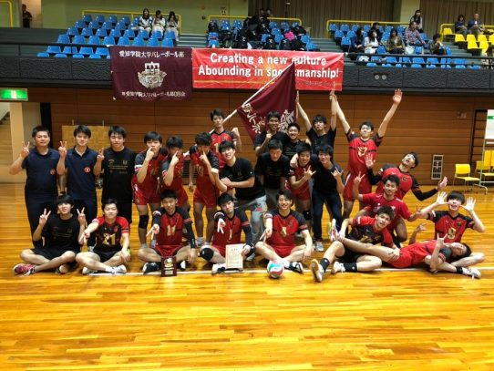 【バレーボール部(男子)】天皇杯全日本バレーボール選手権大会ブロックラウンド