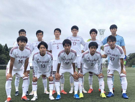【サッカー部】2019年度東海学生サッカーリーグ戦第18節 vs 中部大学