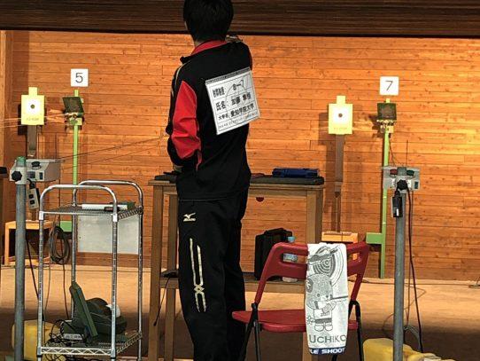 【射撃部】2019年度全日本学生スポーツ射撃選手権大会 AP60 にて3位入賞