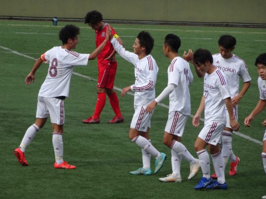 【サッカー部】2019年度東海学生サッカーリーグ戦第19節 vs 名古屋商科大学