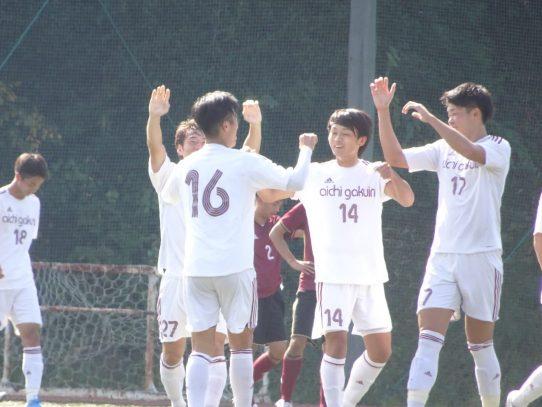 【サッカー部】2019年度東海学生サッカーリーグ戦第20節 vs 名古屋学院大学
