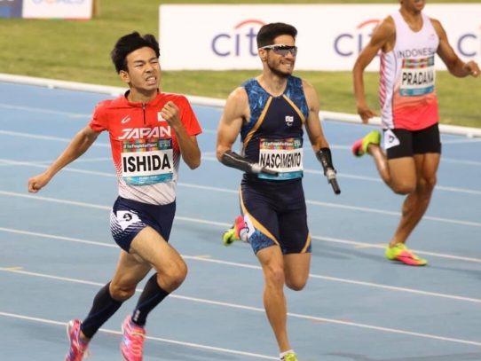 【陸上競技部】「ドバイ2019世界パラ陸上競技選手権大会」において石田駆さんが400M(T46)の日本記録更新!