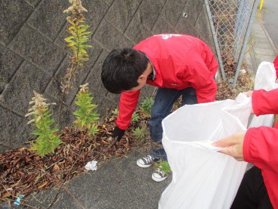 【AGUボランティアセンター】4回目の学外清掃を行いました