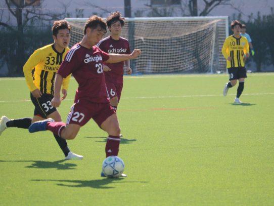 【サッカー部】2019年度東海学生サッカーリーグ戦第12節 vs 東海学園大学
