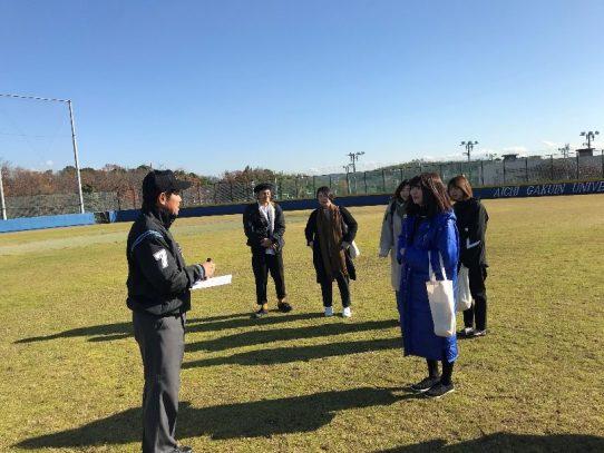 日本プロフェッショナル野球組織 審判員の西本欣司氏が母校を訪問!