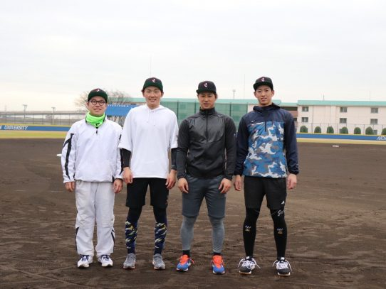 埼玉西武ライオンズ所属の源田壮亮選手が母校を訪問!