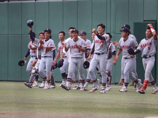 【硬式野球部】秋季リーグ戦 第2週 対愛知工業大学 2日目