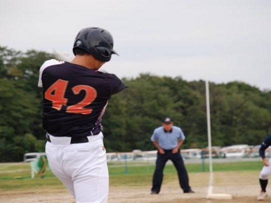 【ソフトボール部】秋季トーナメント 2日目1試合目 (10月18日実施)