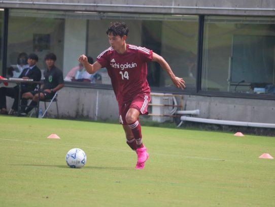 【サッカー部】2020年度東海学生サッカーリーグ戦結果 4年生コメント⑤