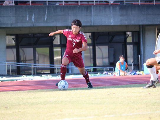 【サッカー部】2020年度東海学生サッカーリーグ戦結果 4年生コメント⑧