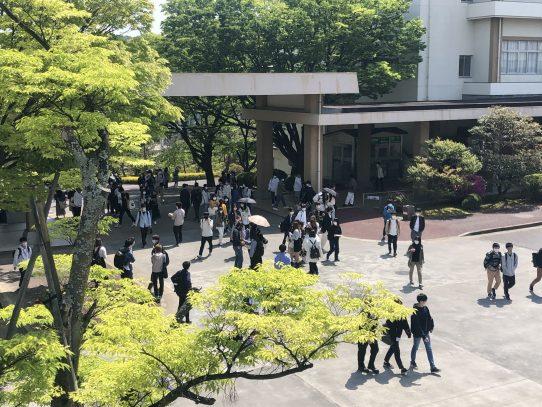 【日進キャンパス】クラブのビラ配布(勧誘)実施中!