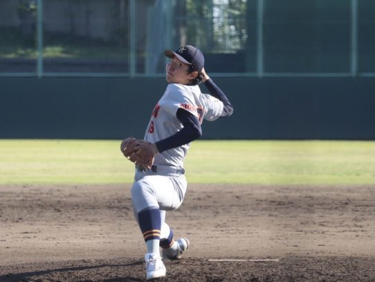 【硬式野球部】春季リーグ戦 第4週 2日目 対中京大学
