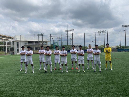 【サッカー部】2021年度東海学生サッカーリーグ戦第8節vs名古屋学院大学