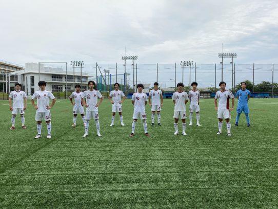 【サッカー部】2021年度 Independence League東海 リーグA 第6節vs東海学園大学U19