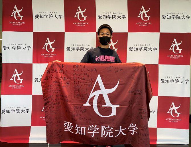 【陸上競技部】東京2020パラリンピック出場の石田駆さんが400mに続き100mへの出場も決定しました!