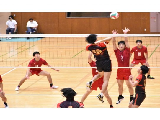 【バレーボール部(男子)】東海大学バレーボールリーグ戦秋季大会 vs中部学院大学
