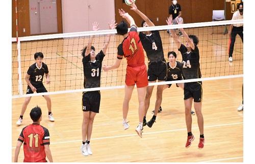 【バレーボール部(男子)】東海大学バレーボールリーグ戦秋季大会vs大同大学