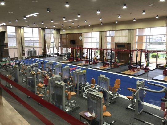 【日進キャンパス】トレーニング室がリニューアルオープンしました!
