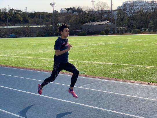 【陸上競技部】「兵庫陸上競技秋季記録会」男子200mで石田駆さんが日本記録を更新。